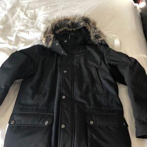 Michael kors jacket faux fur